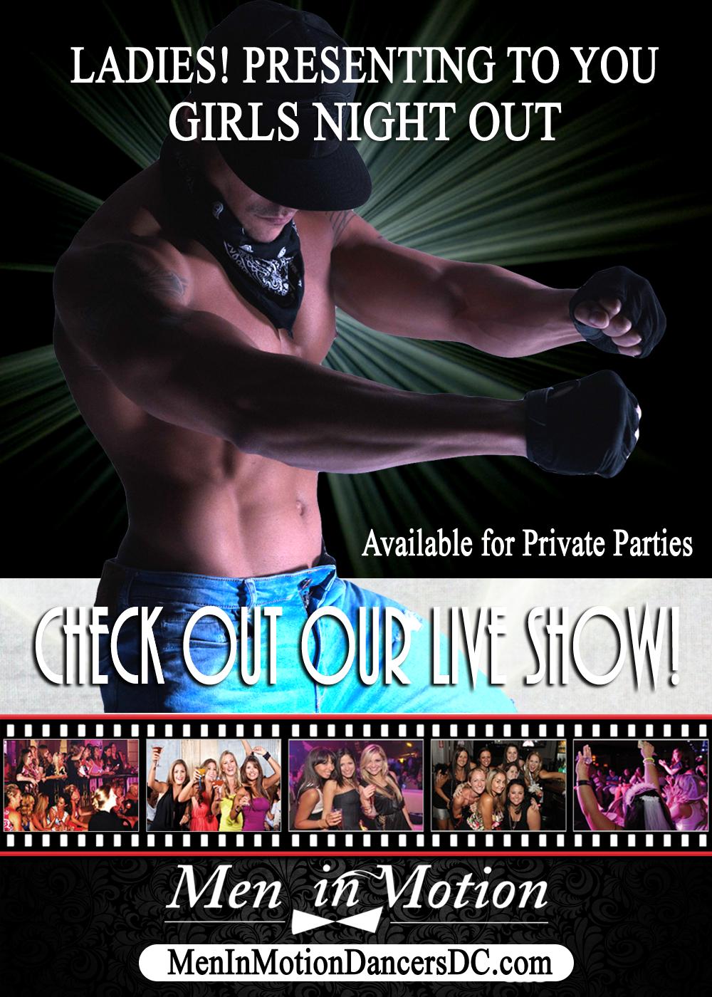 Male Strip Clubs in Washington DC?? Amateur